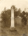 Monument to Harry, a slave who died saving the lives of several students during a fire at Howard College.