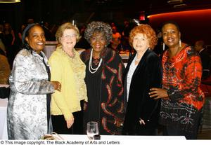 Women pose for picture Hip Hop Broadway: The Musical