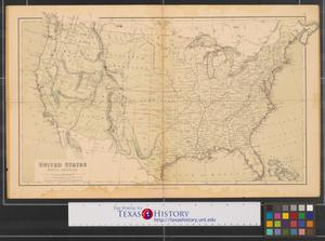 United States, North America : Northern limit of slavery in Western States shown by Mason & Dixon's Line