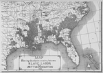 Map showing the relation existing between slave labor and cotton production 1860
