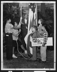 Children promote religious and racial tolerance, circa 1941-1950, Los Angeles