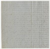 Letter from Edward Bradford