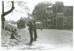 Negro section of town, Saturday noon Belzoni, Miss., Nov. 1939
