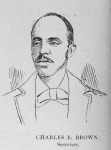 Officers of the League; Charles E. Brown, Secretary
