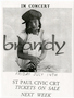 Brandy concert handbill