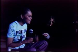 Diana Ross rehearses