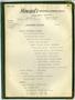 Howard's Industrial Catering Service Smorgasbord catering menu