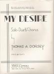 My Desire, 1937