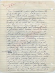 """A thankful American Citizen to """"Mr. Meredith"""" (Undated)"""
