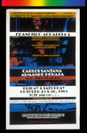 Francisco Aguabella, Announcement poster for
