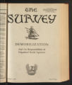 The Survey, December 7 ,1918. (Volume 41, Issue 10)