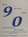 Miss Black teen Cincinnati pageant [1990]