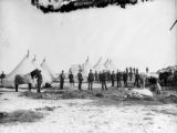 9th Cav camp at Wounded Knee, S.D.