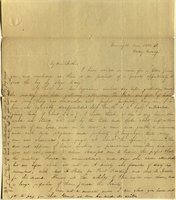 Letter from Charlotte to Samuel Cowles, 1838 June 22.
