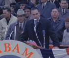 Inaugural address of Governor George Wallace in Montgomery, Alabama.
