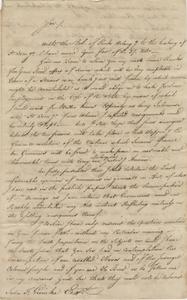 Letter to John F. Grimke from James Delaine, September 3, 1790