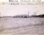 Photograph of housing in West Las Vegas behind the Moulin Rouge