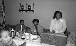 Business Women's Association meeting speaker, Los Angeles, 1983