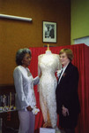 Nancy Wilson and County Librarian with Dress
