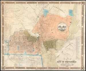 A map of the city of Providence from actual survey