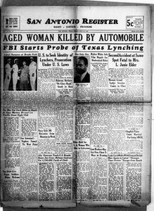 San Antonio Register (San Antonio, Tex.), Vol. 12, No. 27, Ed. 1 Friday, July 31, 1942 San Antonio Register