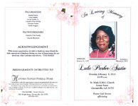 In loving memory of Lula Parker Austin, Monday, February 8, 2016, 11:00 a.m., St. Mark A.M.E. Church, Lester Street, Thomasville, GA 31792, Pastor Gail Brown, officiating