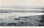 View of Lokoja and native town from Mount Pattey, looking S.E. - the Benue in the distance