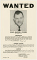 Wanted poster for Buddy Jowers, the assistant police chief of Phenix City, Alabama, who fled town after the assassination of Albert Patterson.