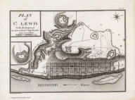 Plan of St. Lewis With the Project of an intrenched Camp French. Grave par Tardieu l'aine. PL. 27. A Journey in North America, containing a Survey of the Countries watered by the Mississippi, Ohio, Missouri, and other Affluing Rivers; with Exact Observations on the Course and Soundings of these Rivers; and on the Towns, Villages, Hamlets, and Farms of that Part of the New World; followed by Philosophical, Political, Military and Commercial Remarks, and by a Projected Line of Frontiers and General Limits. Illustrated by an Atlas of 36 Maps, etc. By Gen. V. Callot, late in the French Service, and Governor of Guadeloupe. Plan of St. Lewis With the Project of an intrenched Camp French.