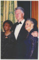 Bill Clinton with Frances Hooks and Maxine Smith