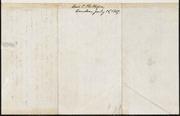 Letter to] Dear Mr Garrison [manuscript