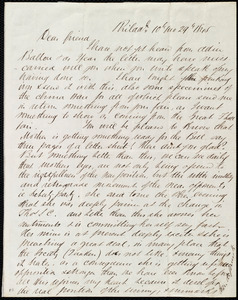 Letter from Edward Morris Davis, Philad'l, [Penn.], to Maria Weston Chapman, 10th mo[nth] 29th [day] 1845