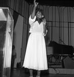 Woman Making Speech, Los Angeles, 1978