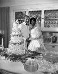 Bride and groom (Sentinel Wedding), Los Angeles, 1962