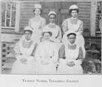 Trained nurses, Talladega College