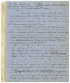 Thomas Brown letter of acts of violence directed against Spanish subjects residing in Key West, December 13, 1851