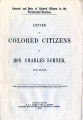 Interest and duty of colored citizens in the presidential election...