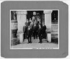 Cabinet of V.U.U. YMCA, 1917-18