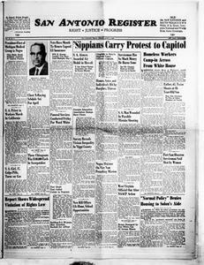 San Antonio Register (San Antonio, Tex.), Vol. 35, No. 6, Ed. 1 Friday, April 8, 1966 San Antonio Register