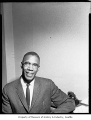 Walter Hundley, probably in Seattle, 1964