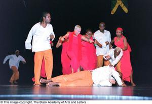 Lift Up Jamaica performance scene Ashe Caribbean Dance