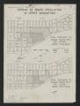 Spread of Negro population in upper Manhattan