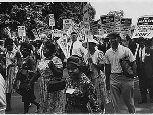 Thumbnail for Photograph of the Civil Rights March on Washington, 08/28/1963