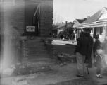African American church building in Montgomery, Alabama, condemned after a bombing.