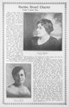 Eureka Grand Chapter; Order Eastern Star; Alice Campbell; Grand Matron; Eva A. Green; Grand Secretary