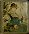 Thumbnail for Trade card scrapbook, [1883].