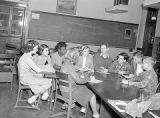 Irving Grade School news staff, 1946