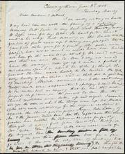 Letter to] Dear Caroline & Deborah [manuscript