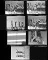 Set of negatives by Clinton Wright of the Jo Mackey Spring Concert, 1966