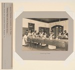 Races, Negroes: United States. Virginia. Hampton. Hampton Normal and Industrial School: Agencies Promoting Assimilation of the Negro. Training Negro Girls in Domestic Service. Hampton Normal and Agricultural Institute, Hampton, Va.: Cooking Class.